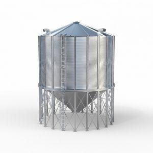silos lejowy zbożowy 220 ton